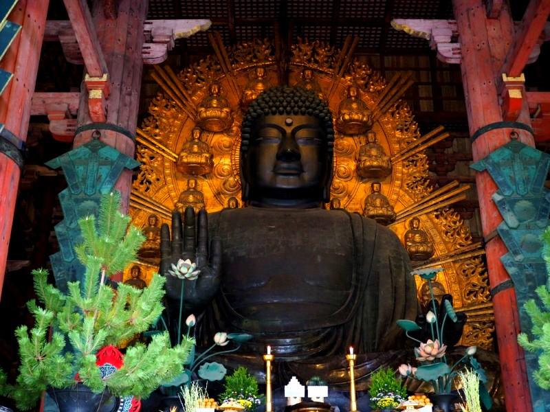 大きな奈良の巨大寺院東大寺は必見!国宝級のスーパースター大仏さまがおられます